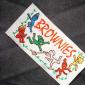 供应厂家直销服装织唛商标、绣花商标